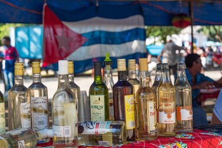 practically: Cuba news: Alcoholic drinks specially rum can be found at cheap prices oscillating from 1 cuc to 2cus a bottle and can be bought practically anywhere.