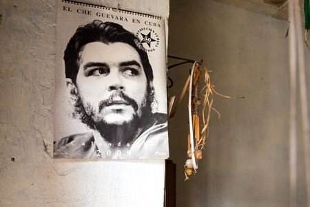 Cuba news: Inside a Revolution supporters seniors couple house full of photos of communist leaders like Che Guevara and Fidel Castro. Images taken with permission of the elder couple