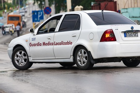 errands: Cuba news: Medical localized guard, the Cuban government intruduces light motor vehicles to agilize urgent calls and an ambulance is not available. Also, they use the cars for doing other hospital related errands or needs.