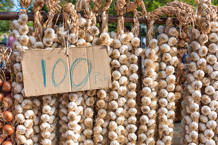 getting better: Cuba news: food challenging prices for Cuban population. Although the situation of getting food is much better, the high prices are an obstacle for many  Garlic 100 pesos (cup) for 100 heads.  The average state salary in Cuba rose 1 percent in 2013 to 471