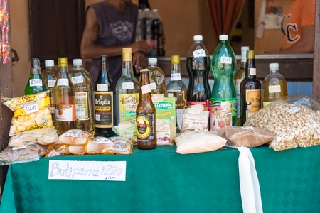 practically: Cuba news:Alcoholic drinks specially rum can be found at cheap prices oscillating from 1 cuc to 2cus a bottle and can be bought practically anywhere. Editorial