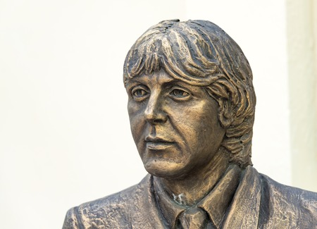 honoring: Trinidad de Cuba tourism and landmark: Statue honoring the Beatles built at the Music House which is located near the Plaza Major.  Trinidad is one of the oldest villages founded by Spanish and a UNESCO World Heritage Site visited by a large number of tou