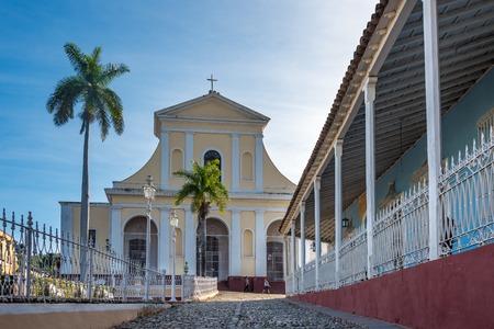 holy trinity: Trinidad de Cuba, Holy Trinity Catholic Church.  Stock Photo