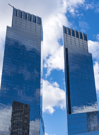 mustafa: Time Warner Center is a twin-tower building developed by AREA Property Partners and The Related Companies in New York City. Its design, by David Childs and Mustafa Kemal Abadan of Skidmore, Owings & Merrill, consists of two 750 ft (229 m) twin towers brid Editorial