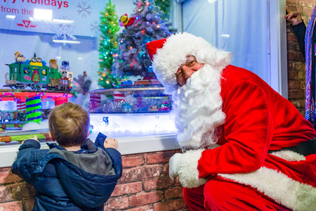 christmas train: Toronto TTC opens spectacular Christmas train display, created by retired TTC employee Bill Marushiak. This motion-active display is an annual treat, for adults and kids alike.