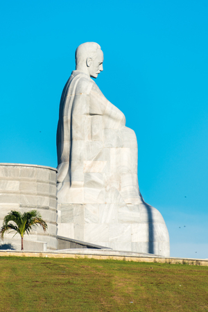 national hero: Cuba attractions and landmarks: Jose Marti statue at Revolution Square, Havana, Cuba.  Jose Marti is a Cuban national hero and is referred to as the Apostle of Cuban Independence.
