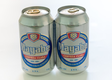 produced: Products made in Cuba: Mayabe light beer cans produced in Cuba.  Mayabe brand of beer is produced by Cerveceria Bucanero SA (CBSA ). The brand takes its name from a valley in eastern Cuba a region full of mystery and intrigue.