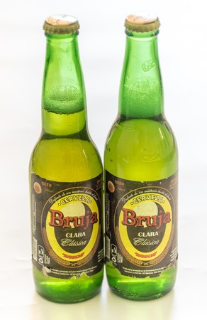 cuban culture: Beer produced in Cuba: Bruja beer produced in Manacas, Villa Clara, Cuba. It is one of the cheapest beers brewed at 4.5% alcohol.  Cuba is famous for its beverages like rum, beer and wine through which it promotes Cuban culture across the globe.