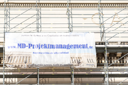 revitalization: Revitalization of Capitol Building in Havana, Cuba: German company MD Project management is revitalizing the landmark.  Currently, the science academy building is used for the seat of the National Government of Cuba.