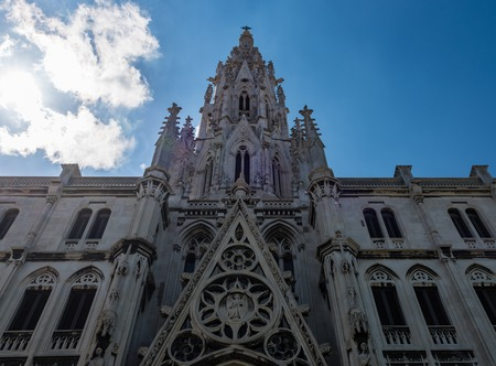 everyday: Popularly known as Reina Church, the Parish of the Sacred Heart of Jesus and St. Ignatius of Loyola is one of the most beautiful Catholic temples in Cuba. Exterior details and the everyday life in the Cuban capital days before the visit of Pope Francis.