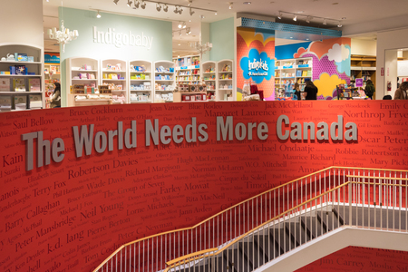 retailer: The World Needs More Canada is a catchphrase used at Chapters Bookstores, Canada�s largest book retailer. Bring more Canadian publishers and authors to the World.