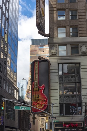 hard rock cafe: Hard Rock Cafe in New York City  Hard Rock Cafe International, Inc. is a chain of theme restaurants founded in 1971 in London. In 1979, the cafe began covering its walls with rock and roll memorabilia, a tradition which expanded to others in the chain. Editorial