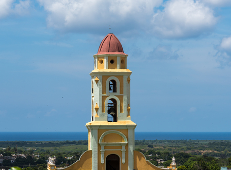 unesco world heritage site: Saint Francis of Assisi Convent, currently the Museum of the Fight Against Bandits. Trinidad is a Unesco World Heritage Site and a major tourist landmark in Cuba