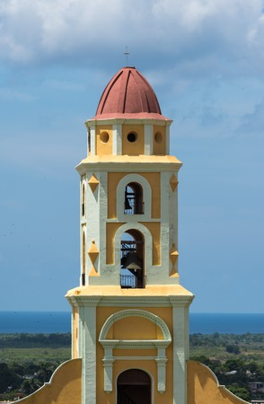heritage site: Saint Francis of Assisi Convent, currently the Museum of the Fight Against Bandits. Trinidad is a Unesco World Heritage Site and a major tourist landmark in Cuba