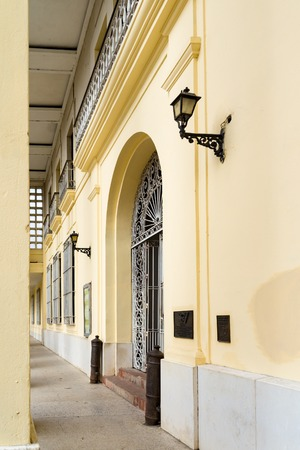 ignacio: Ignacio Agramonte Provincial Museum facade details: important cultural and educational landmark