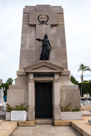 mariano: Colon cementery: Jose Martis parents tomb. Mariano Marti and Leonor Perez remains rest in this tomb.  The Cementerio de Colon landmark is among the five most important in the world. It contains many valuable sculpture and the tombs of many important Cuba