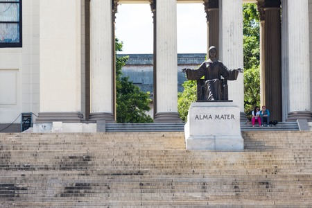 alma: Alma Mater sculpture at University of Habana city.