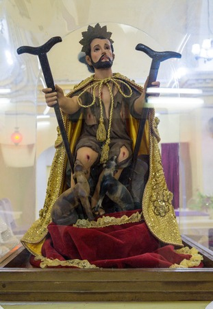 lazarus: Saint Lazarus or San Lazaro church.   The church is located inside the former Valencia Father Nursing Home which is currently the School of Music. Editorial