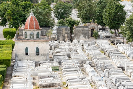 Colon Cemetery (Cementerio de Crist?bal Col?n). Contains tombs of great architectural values and great Cuban personalities, it is the 5th most important cemetery in the world.