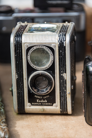kodak: Vintage antique Kodak camera sold as souvenir in Old Havana