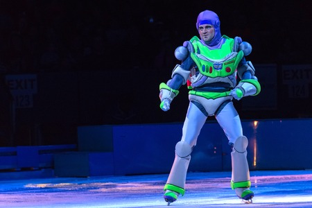 toy story: Scenes from Toy Story: Disney on Ice celebrates 100 hundred years of magic. The famous Disney characters and stories are brought to life with the artistry of ice skating to create an unforgettable family experience.