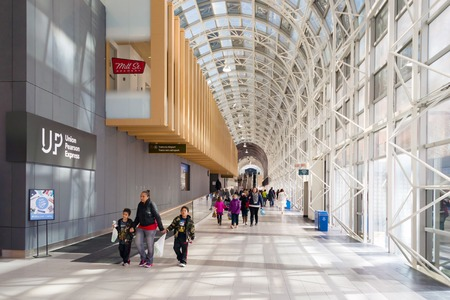 revitalization: Recently revitalized Skywalk as part of Union Station transformation into a rail hub for the 21st century.  Union Station which is Canadas busiest rail terminal is currently in the midst of a long-term revitalization process to become a more efficient an