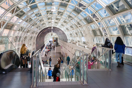 recently: Recently revitalized Skywalk as part of Union Station transformation into a rail hub for the 21st century.  Union Station which is Canadas busiest rail terminal is currently in the midst of a long-term revitalization process to become a more efficient an