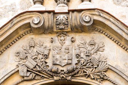 carlos: Carlos J. Finlay Historic Museum: vintage stone work detailed on building. Editorial