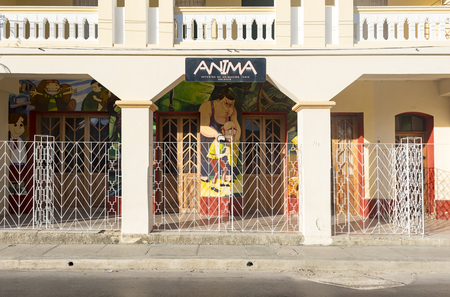 holguin: Anima building. The place is cartoon animation studio for the ICAIC ( Cuban Institute of Art and Cinematographic Industry)