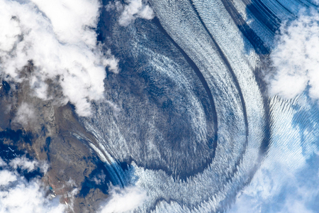 Impressive patterns, shapes and textures of planet Earth seen from space.