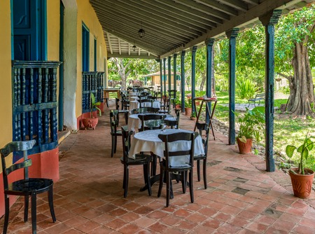 Guachinango Restaurant set in old farm colonial house is owned by Palmares S.A and operated as a cooperative with the nearby neighbors Editorial