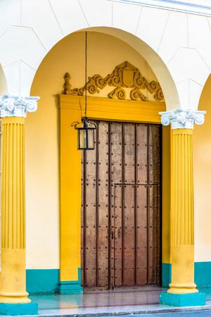 Well conserved colonial architecture part of the Cuban heritage which is important for the emerging tourist industry in the Caribbean Island
