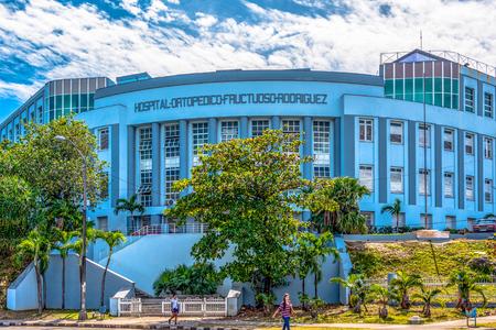 Entrance to the Fructouso Rodriguez Orthopedic hospital in the Presidents Avenue Editöryel