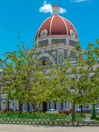 Provincial Government building in the Jose Marti Park which is a National Monument and a Unesco World Heritage Site
