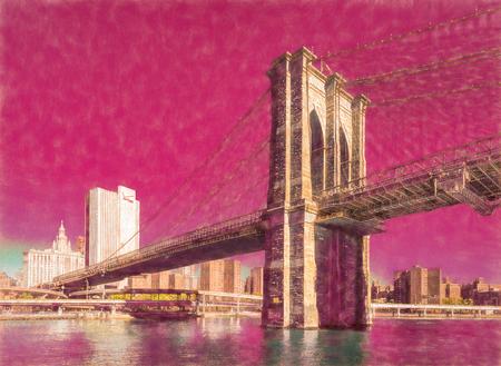 The Brooklyn Bridge, New York City, United States of America
