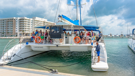 Nautical vessels offering tours in Marina Las Morlas which is a popular recreation landmark in the resort town is operated by Gaviota Corp.