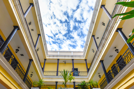 Hotel La Union, indoors details of the famous place and tourist attraction located in the city center. The place is managed by Melia Hotels Editorial