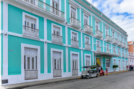 Cienfuegos, Cuba, Hotel Boutique La Union operated by Melia Hotels. Editorial