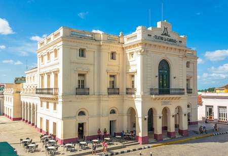 The Charity Theatre  or Teatro La Caridad on of the eighth great theater of Cuba from the colonial era.