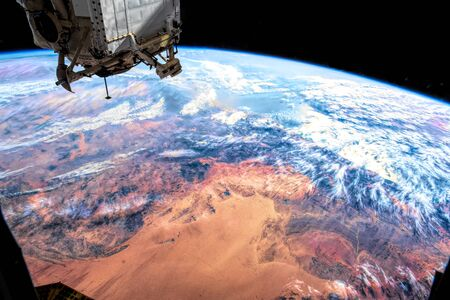 The beauty in nature of our planet Earth seen from the International Space Station