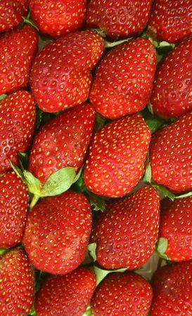 good cholesterol: strawberry different