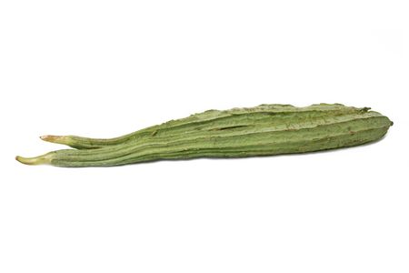 ridged: ridged gourd_luffa acutangula_oyong Stock Photo