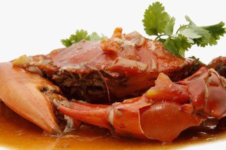 high calorie foods: crab
