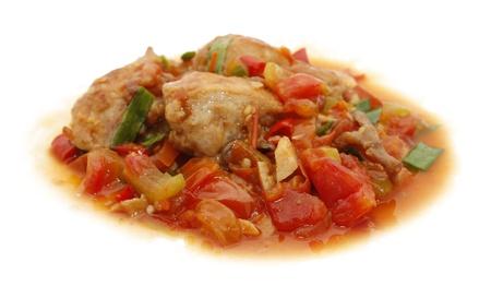 chicken tomato spicy Stock Photo - 14168831