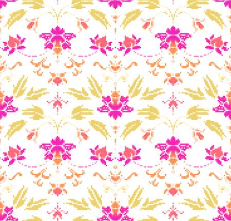 Orientalische Ornament nahtlose Muster. Vektor-Illustration eps 10 Standard-Bild - 78454643