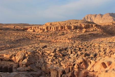 dahab: Red canyon around Dahab, Egypt