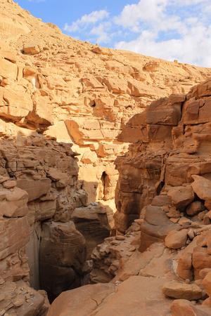 dahab: Big white canyon around Dahab, Egypt