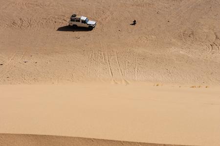 dahab: Dunes around Dahab, Egypt