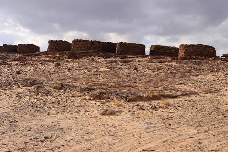 dahab: Ruins around Dahab, Egypt Stock Photo