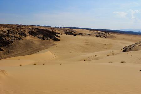 sinai: Desert with mountains. Sinai, Egypt